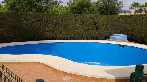 Recubrimiento piscina